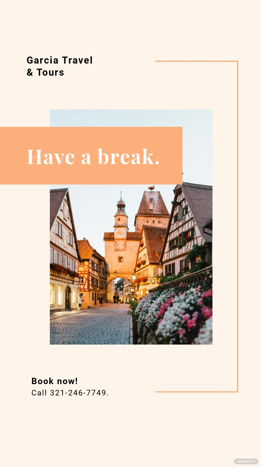 Free Travel  Tourism Instagram Story Template