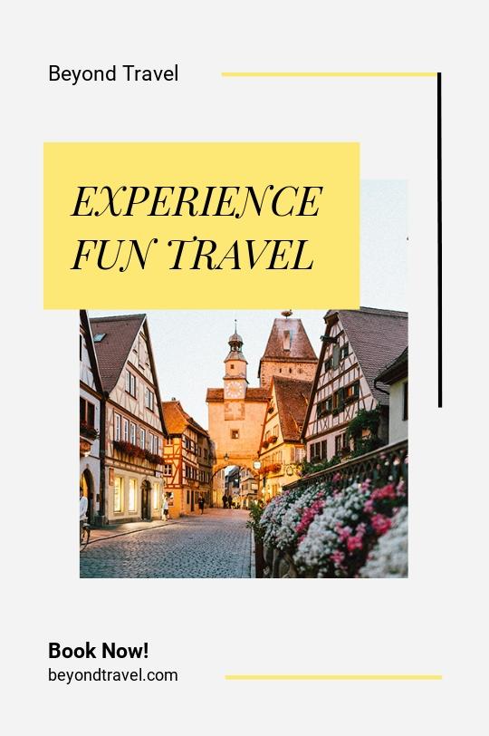 Travel & Tourism Tumblr Post Template