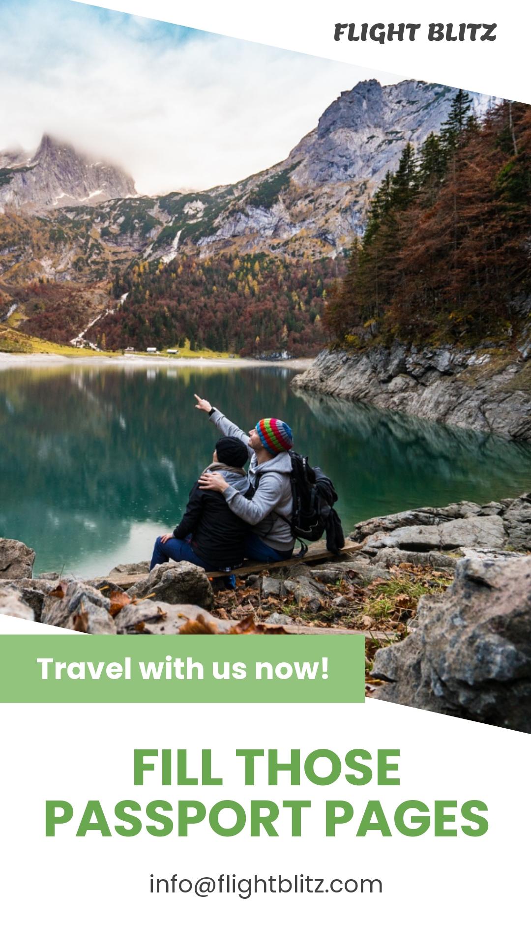 Travel Agency Instagram Story Template