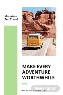 Free Travel Agency Tumblr Post Template