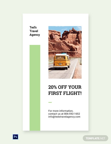 Free Travel Agency Whatsapp Image Template