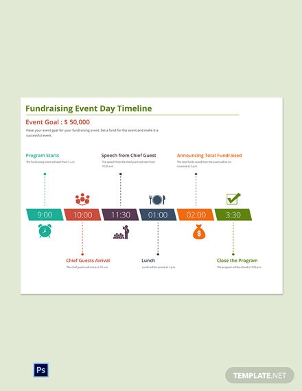 Free Event Planning Timeline Template