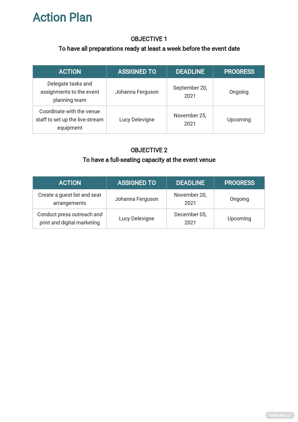 Free Event Planning Timeline Template 3.jpe