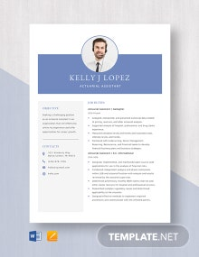 Actuarial Assistant Resume Template