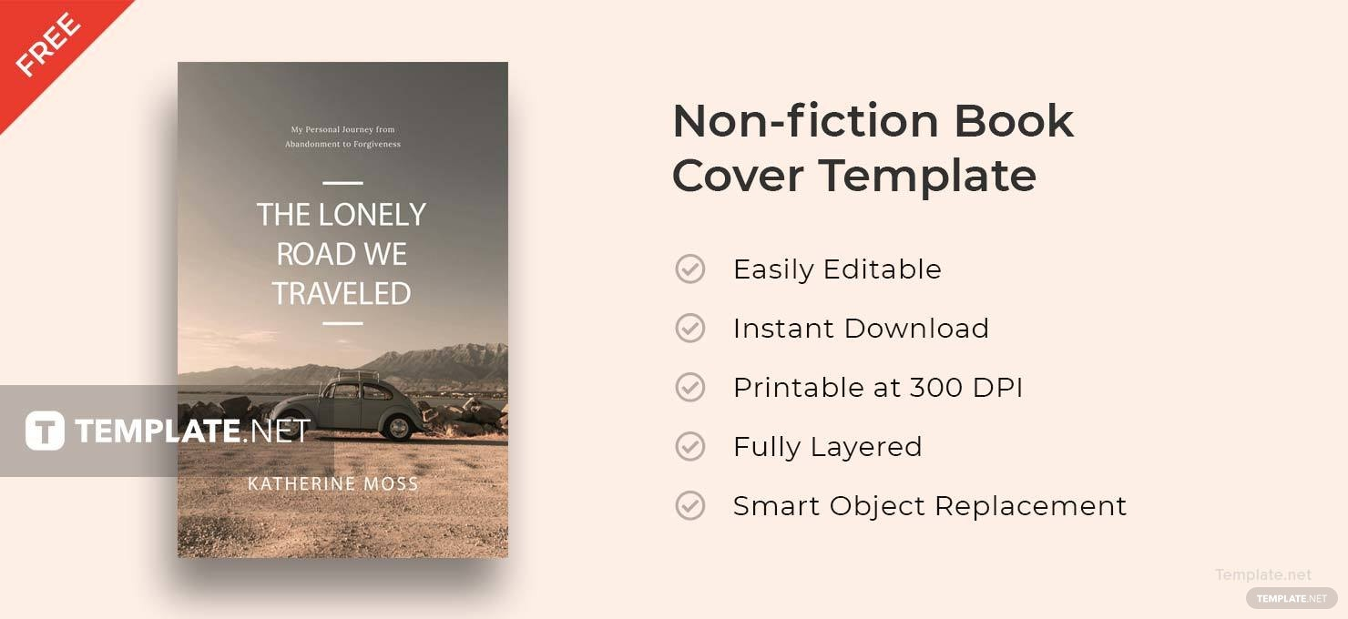 Nonfiction Book Cover Template