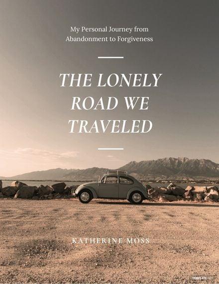 Simple Non-fiction Book Cover Template