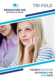 Education Tri-Fold Brochure Template