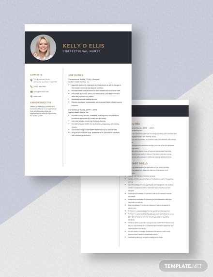 Correctional Nurse Resume Download