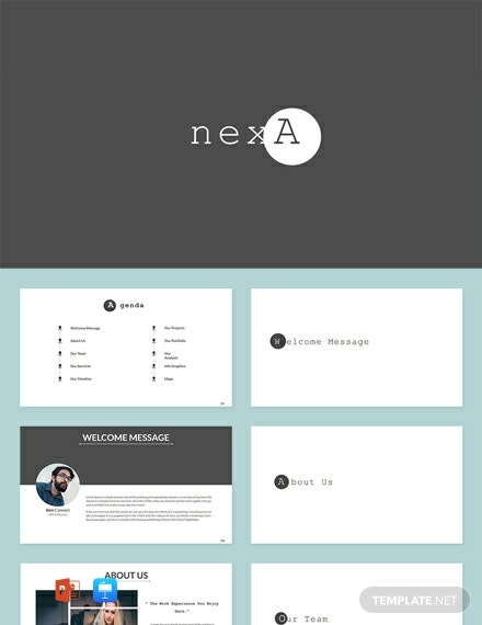 Free Business Nexa Presentation Template