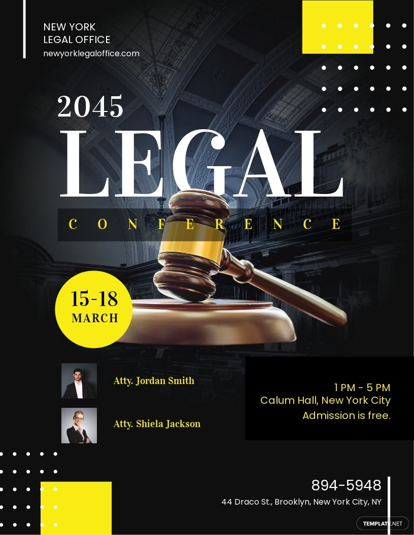 Legal Conference Flyer Template.jpe