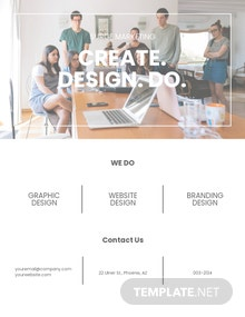 Marketing Consulting Businesss Flyer Template