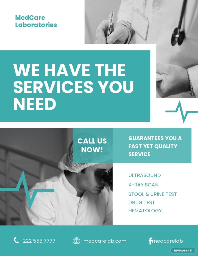 Medical Clinic Flyer Template.jpe