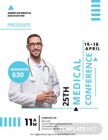 Medical Conference Flyer Template