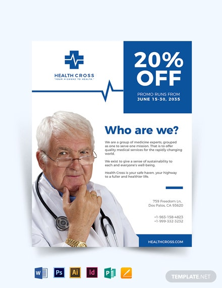 Medical Doctors Flyer Template