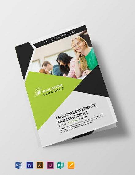 Free Modern Education Brochure Template