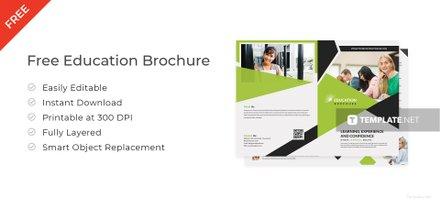 Modern Education Brochure Template