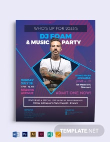 Party Time Flyer Template