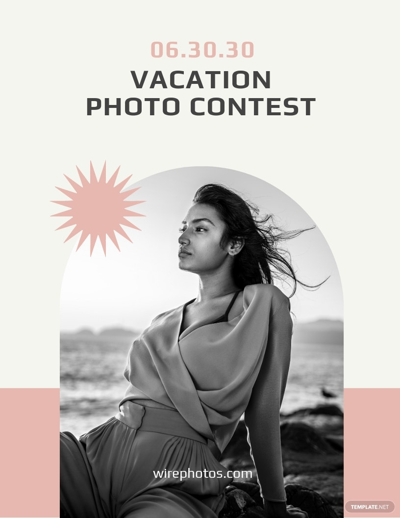 Photo Contest Flyer Template