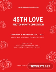 Photography Competition Flyer Template