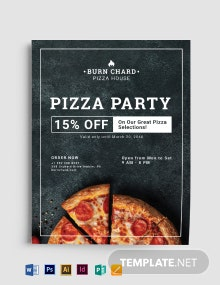 Pizza Place Flyer Template