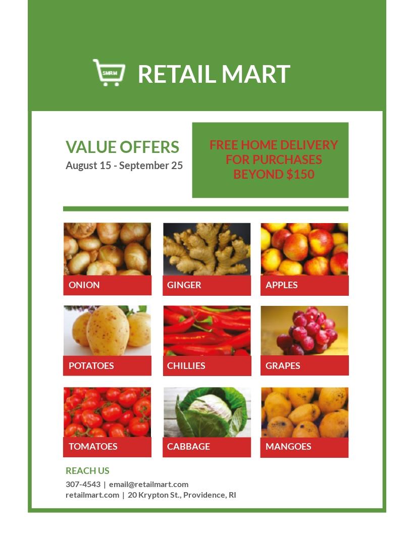 Retail Mart Flyer Template