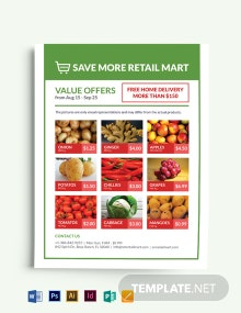 Retail Mart Flyer Template