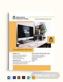 Small Business Company Flyer Template
