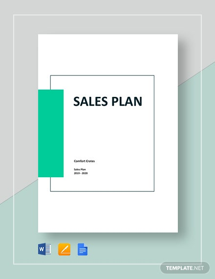 Basic Sales Plan Template