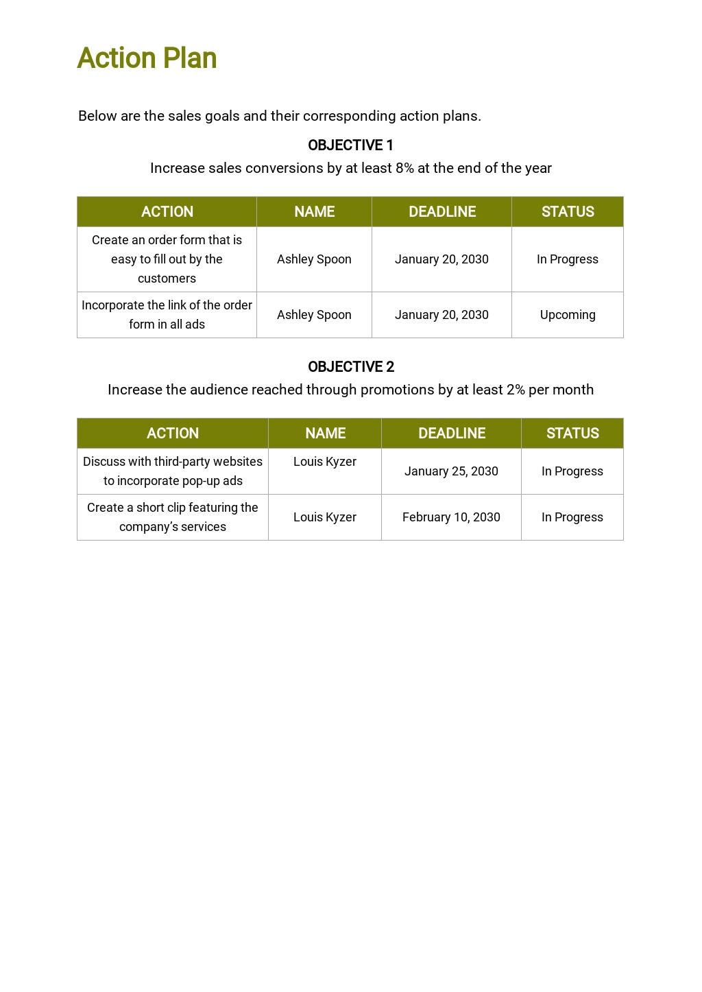 Contingency Sales Plan Template 4.jpe