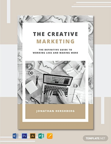 129 Free Book Cover Templates Word Psd Indesign