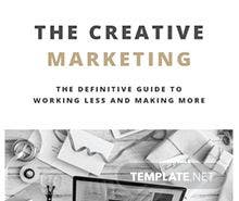 Marketing Book Cover Template