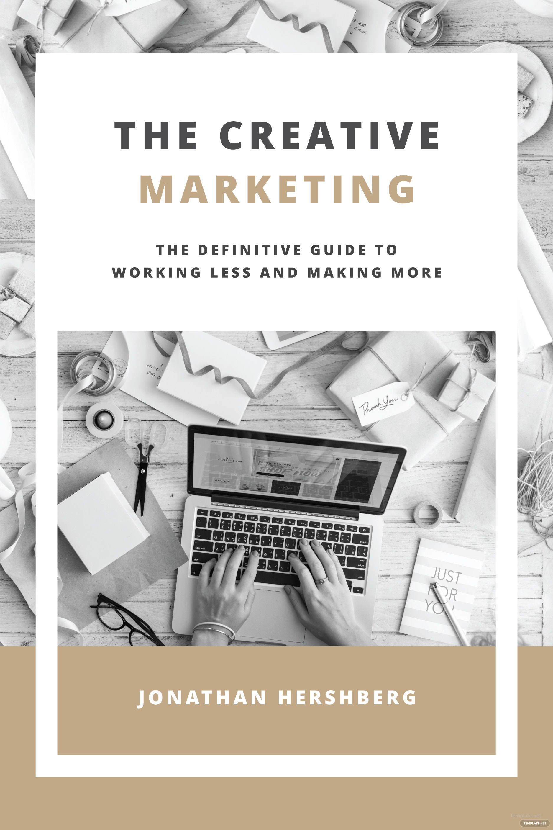 Book Jacket Template Microsoft Publisher ~ Free marketing book cover template in microsoft word