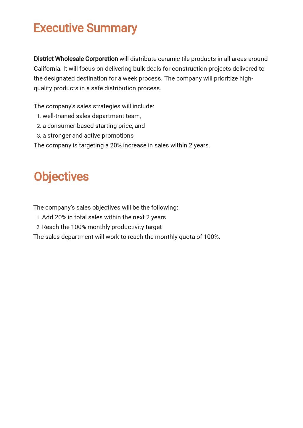Distribution Sales Plan Template 1.jpe