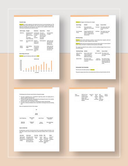 Sample E Commerce Sales Plan
