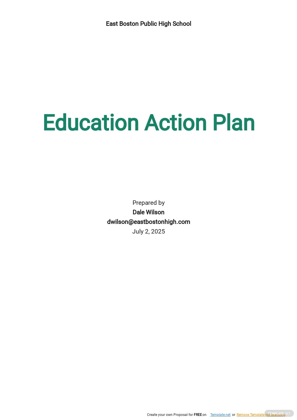 Education Action Plan Template.jpe