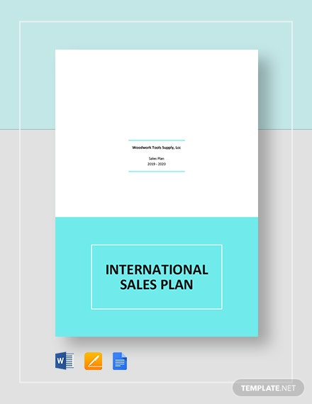 International Sales Plan Template
