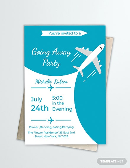 Free Going Away Party Invitation Template Download 344 Invitations