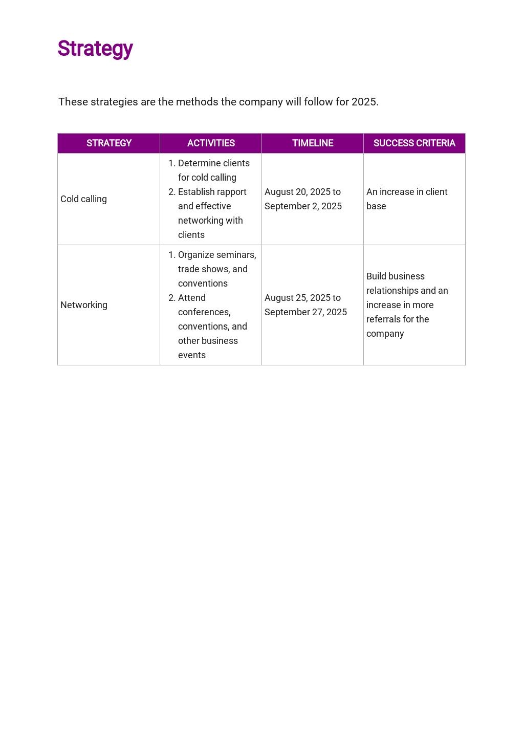 Medical Device Sales Plan Template 2.jpe