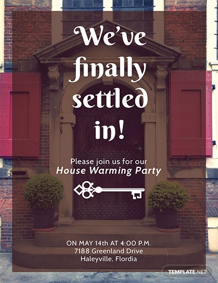 free housewarming party invitation template download 344