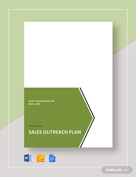sales outreach plan