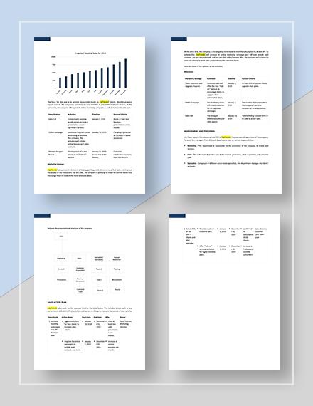 Basic Social Media Sales Plan
