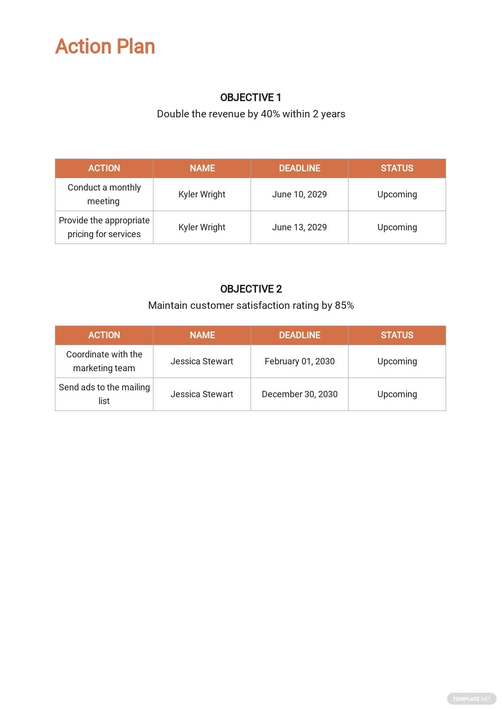 Spa/Salon Sales Plan Template 4.jpe
