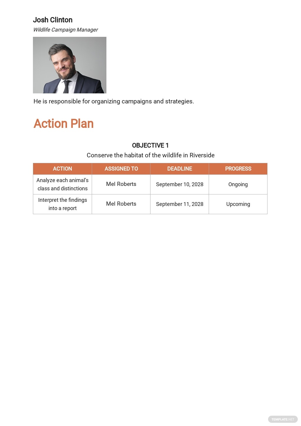 Wildlife Action  Action Plan Template 2.jpe