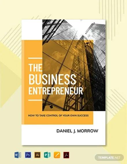 Free Entrepreneur Book Cover Template