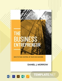 Free Entrepreneur Book Cover Template
