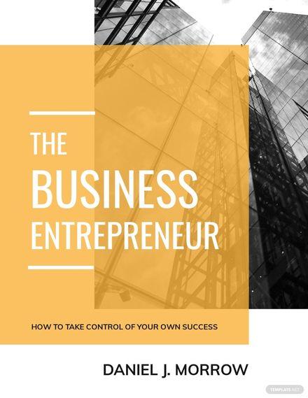 Entrepreneur Book Cover Template