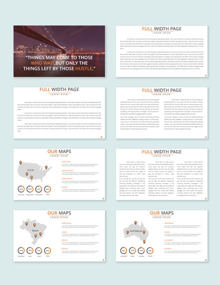 Free Multipurpose Business Presentation Template