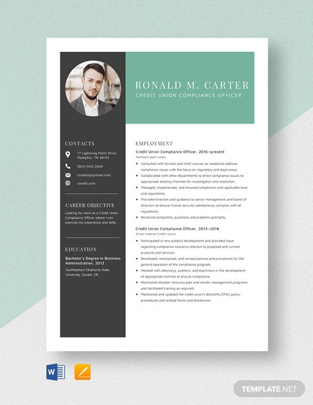 education officer resume template