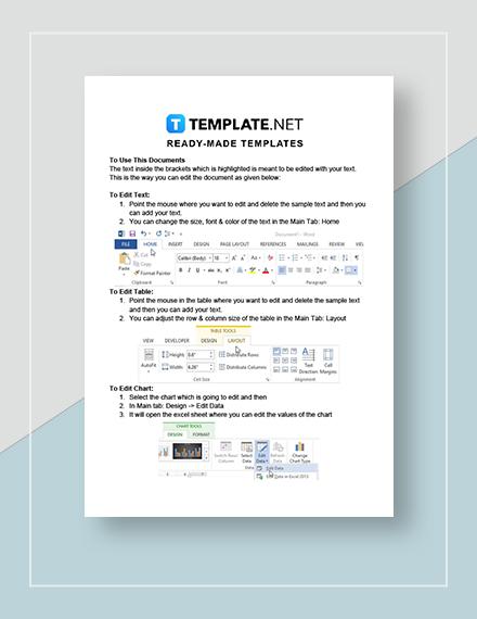 Application Checklist Instructions
