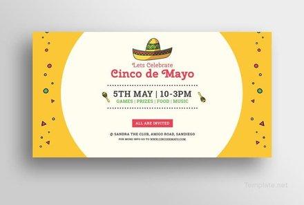 Free Cinco de Mayo Day Facebook Post Template